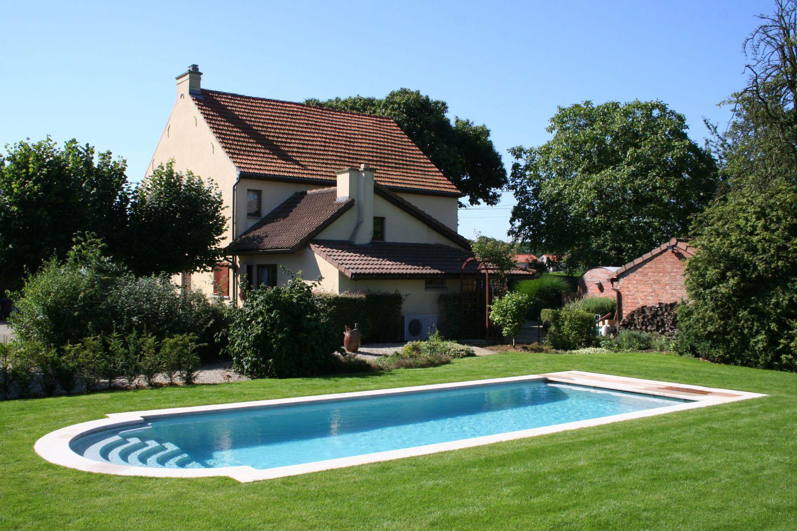 LPW Pool back garden UK