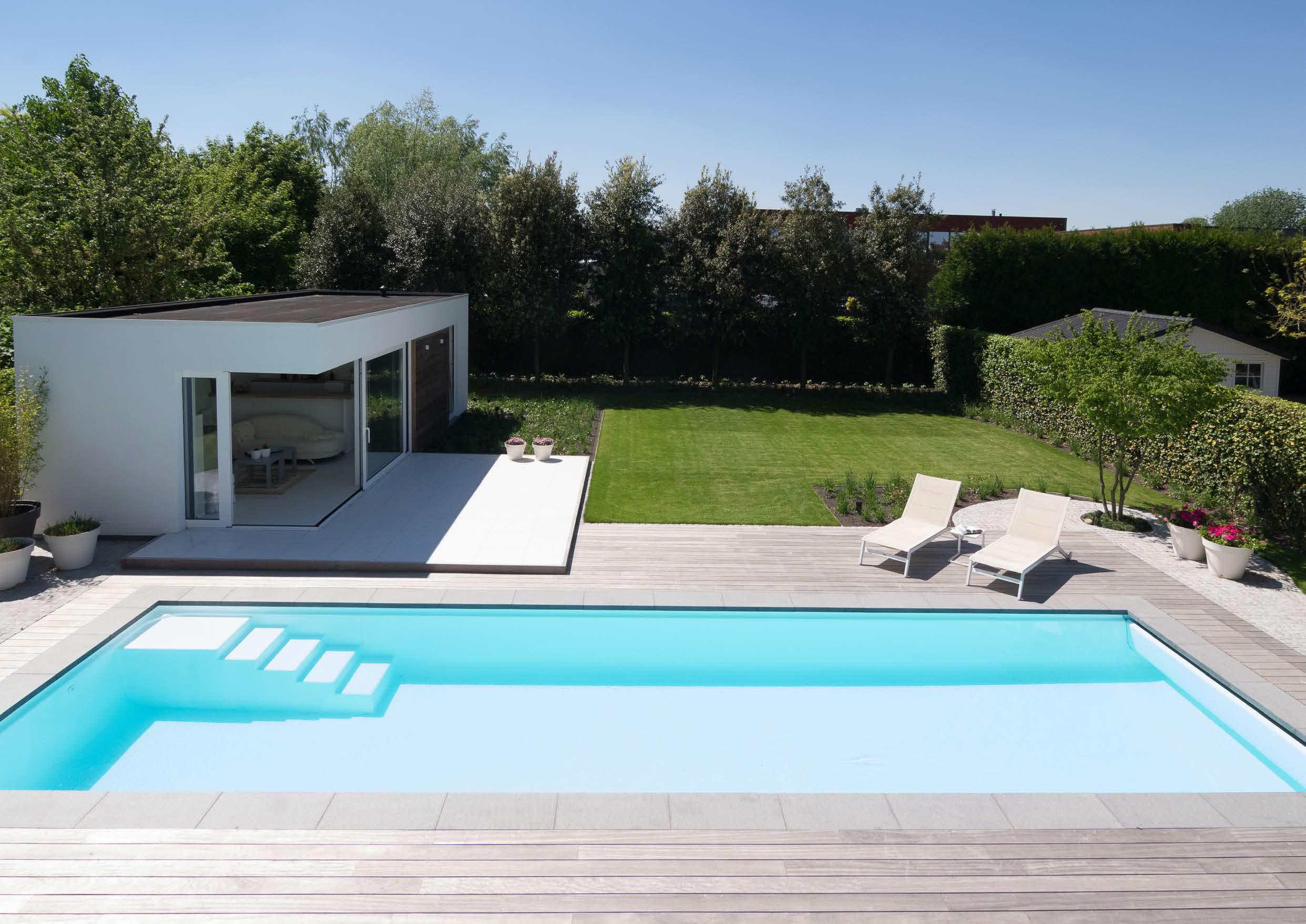 Patio Pool back garden UK